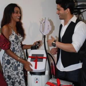 Reshmi Ghosh & Amit Tondon @ Prettislim Clinic