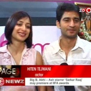 Hiten-&-Gauri-Tejwani-at-the-launch-of-Prettislim-Clinic | Zoom-TV
