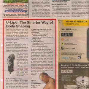 Article in Mumbai Mirror