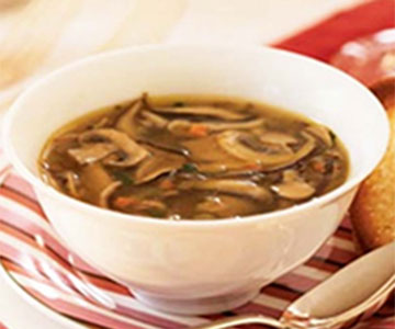 Mushroom & Parsley Soup