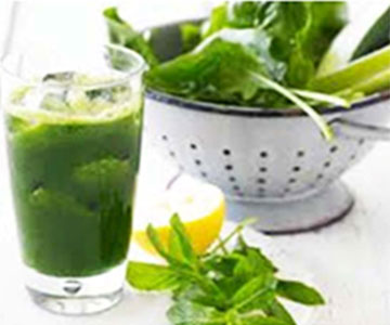 Spinach & Mint Juice