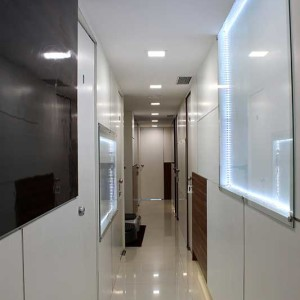 Bandra Clinic Interior view passage