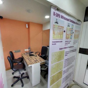Kandivali Clinic Consultation Cabin 4