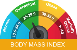Body Mass Index Chart For Men & Women